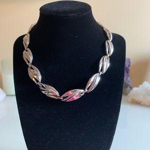 Vintage Trifari Silver tone necklace